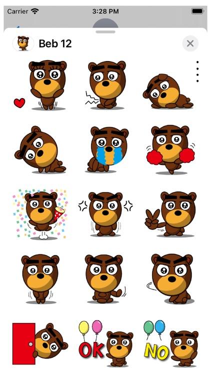 Beb 12 Stickers
