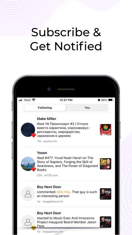 Divecast: Social Podcast App screenshot-4