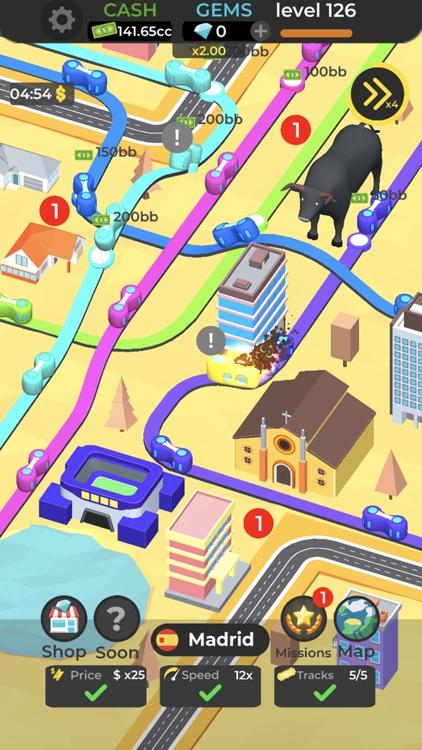 Subway Idle 3D screenshot-4