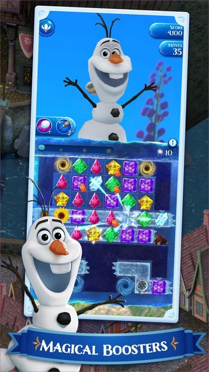 Disney Frozen Free Fall Game screenshot-4