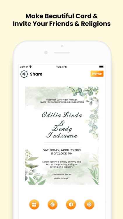 Invitation Card Maker (RSVP) screenshot-7