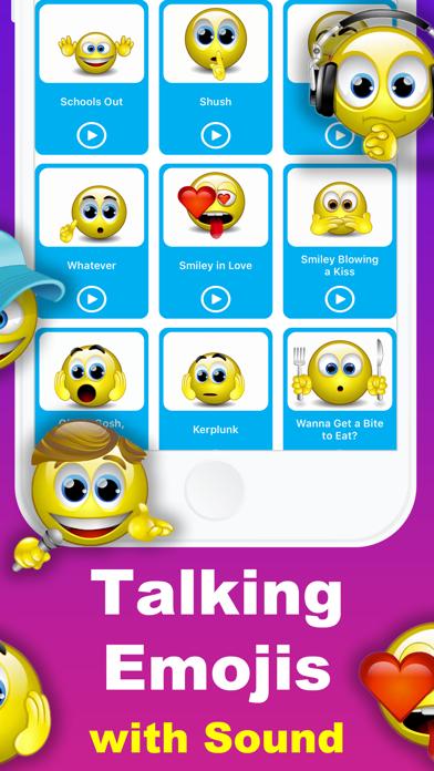 Animated Emoji 3D Sticker GIF screenshot two