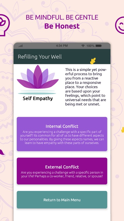 Refilling Your Well: Self care screenshot-3