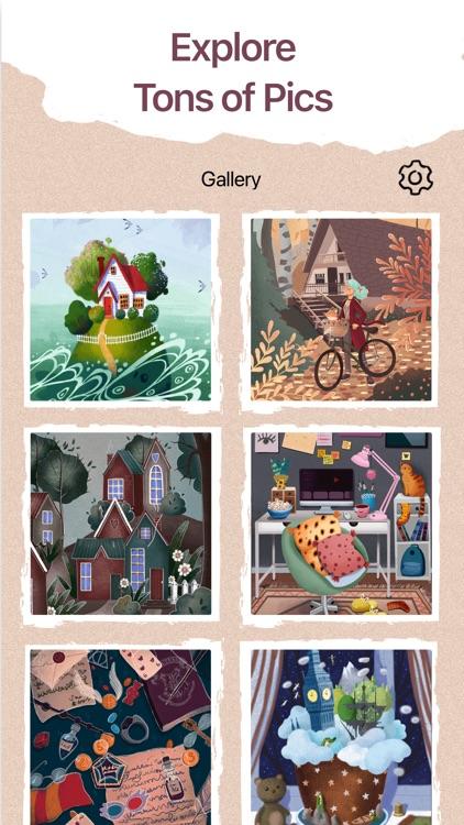Art Puzzle - Jigsaw Coloring screenshot-5