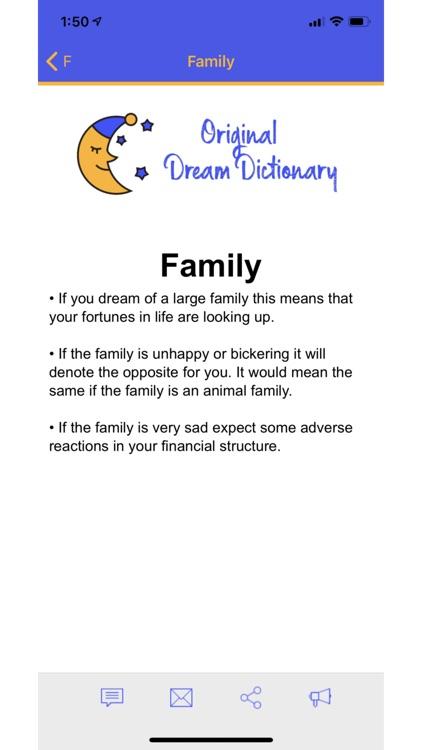 Original Dream Dictionary
