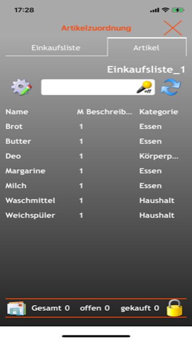 EniShoppingList screenshot 7