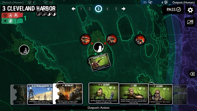 Neuroshima Convoy card game screenshot-3