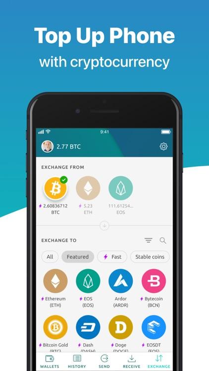 Multi Crypto Wallet-Freewallet screenshot-4
