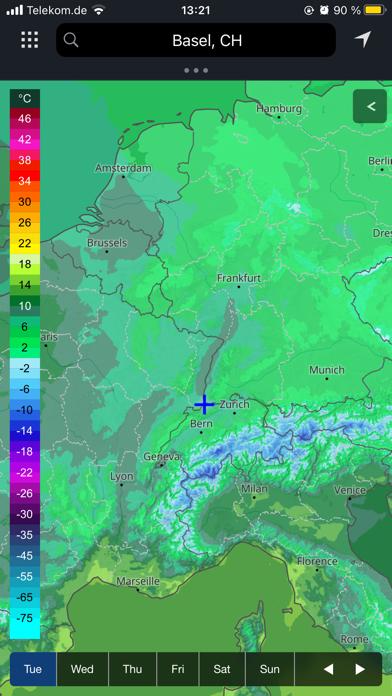 meteoblue weather & mapsのおすすめ画像2