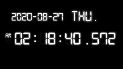 Millisecond Clockのおすすめ画像1