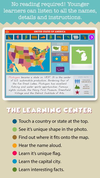 Montessori Geography School Ed screenshot 4