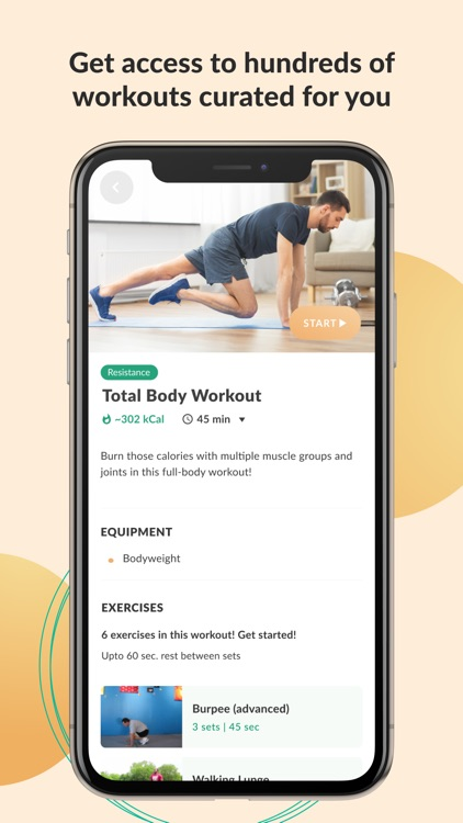 FitMyLife - Workout/Meal Plans screenshot-4