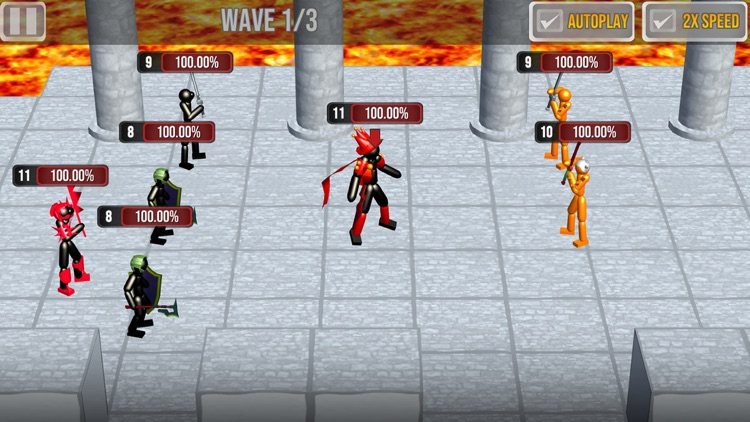 Stickman Raid screenshot-3