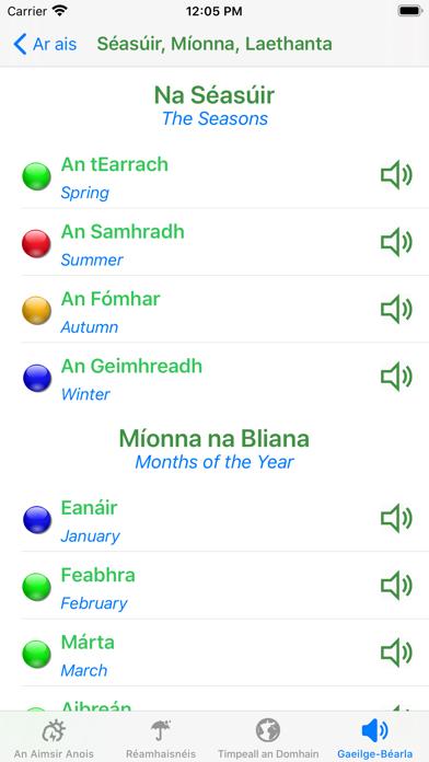 Aimsir - The Weather in Irishのおすすめ画像5
