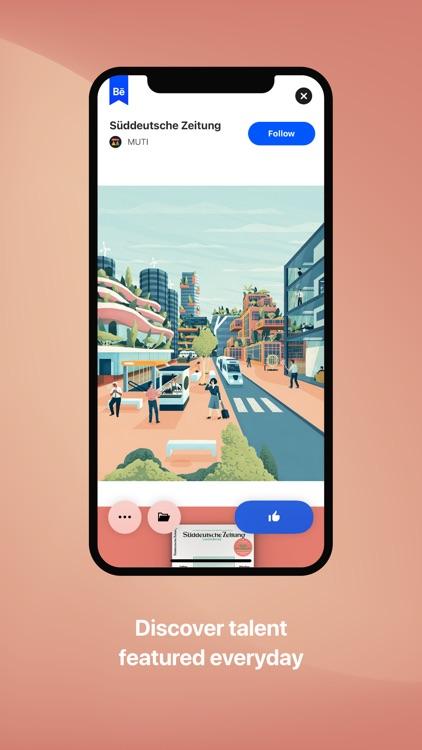 Behance – Creative Portfolios screenshot-3