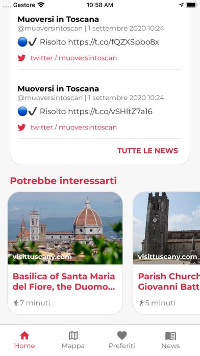 Screenshot of Muoversi in Toscana5