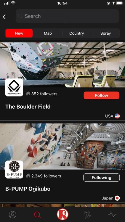 Satellite -Climbing App-