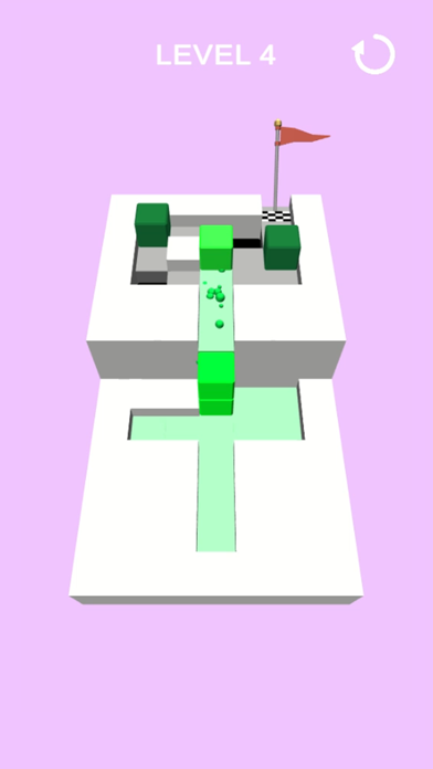 Cube stack puzzle screenshot 3
