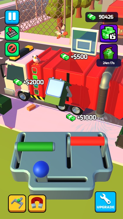 Garbage Truck 3D!!! screenshot-4