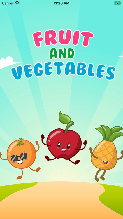 Fruits and Vegetables app