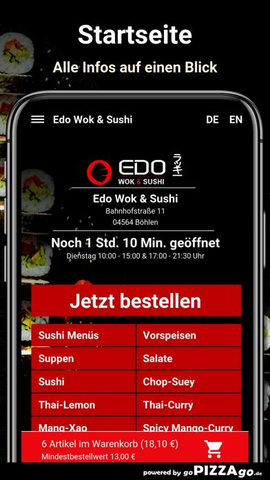 Edo Wok & Sushi Böhlen screenshot 2