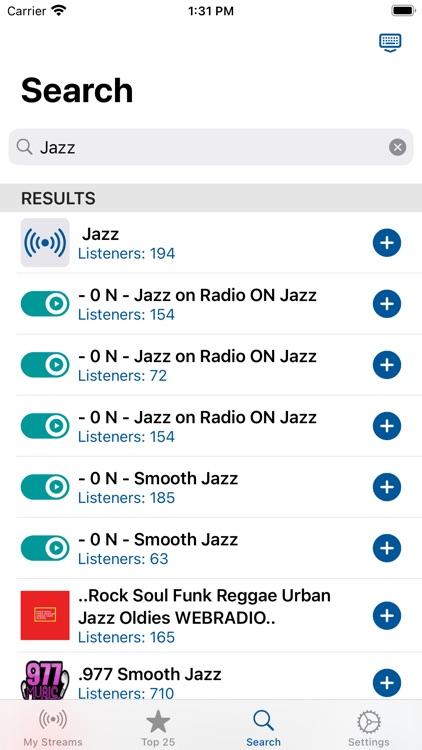 iScan - Radio Streaming screenshot-3