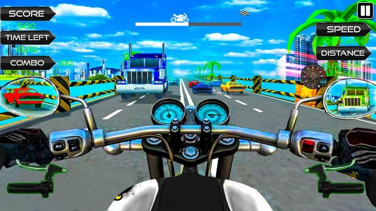 Moto Rider Highway Racer 3D screenshot-3