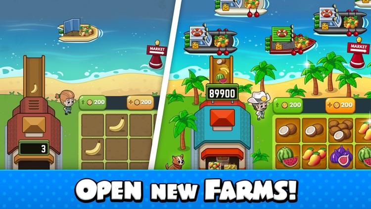 Idle Farm Tycoon - Merge Game screenshot-3