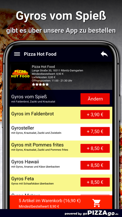 Hot Food Ribnitz-Damgarten screenshot 6