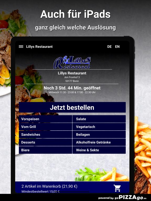 Lillys Restaurant Bonn screenshot 7