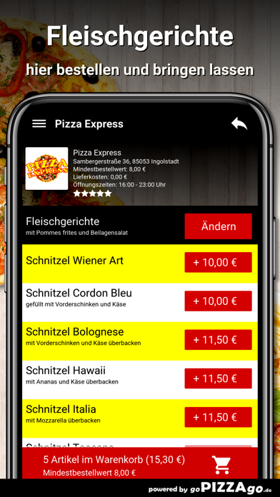 Pizza Express Ingolstadt screenshot 6