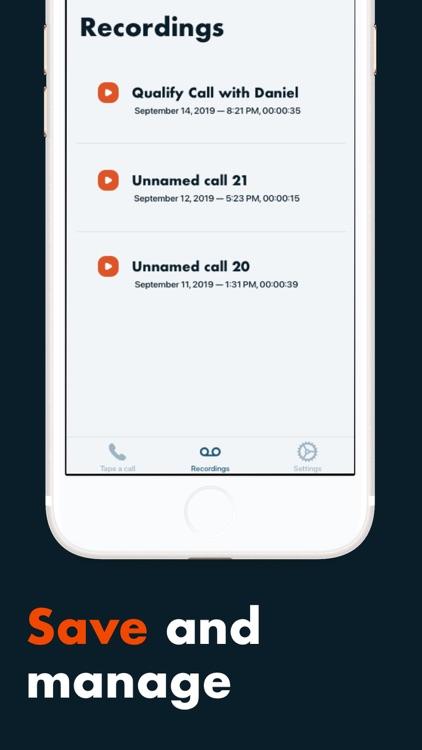 Automatic Call Recording & Log screenshot-3
