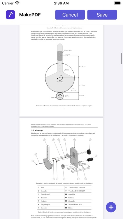MakePDF: Document Merger screenshot-4