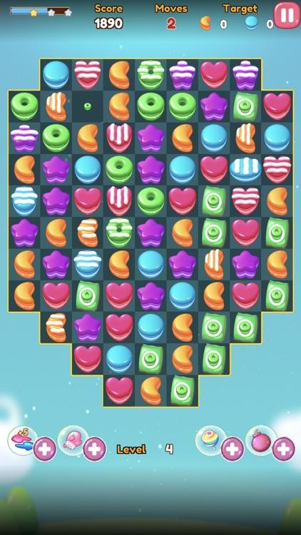 Jelly Fruit Candy Jam Pop screenshot-6