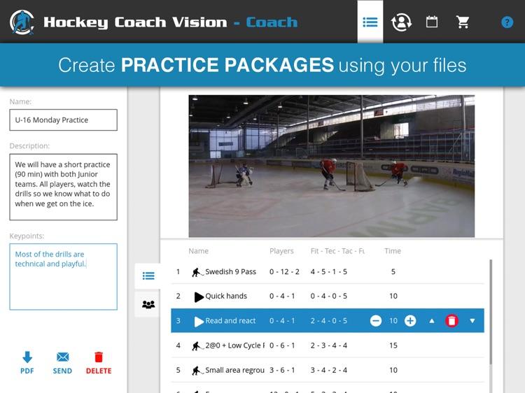 Hockey Coach Vision screenshot-5