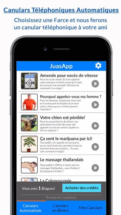 JuasApp - Canulars