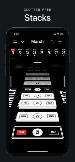 Vantage Calendar Screenshot