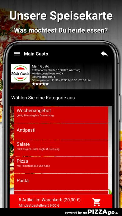 Main Gusto Würzburg screenshot 4