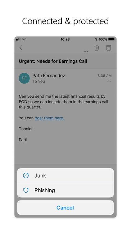 Microsoft Outlook screenshot-5