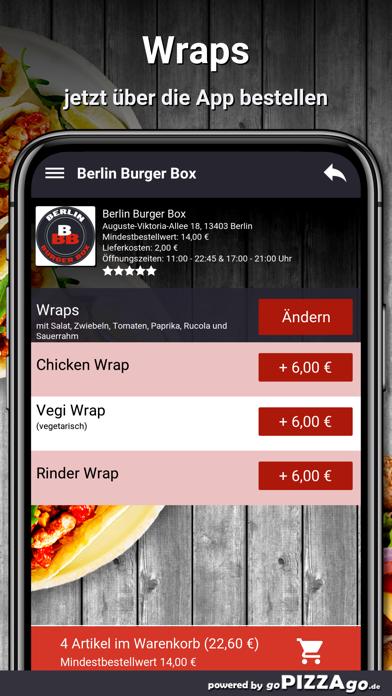 Berlin Burger Box Berlin screenshot 5