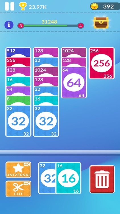 2048 Merge Card screenshot-1