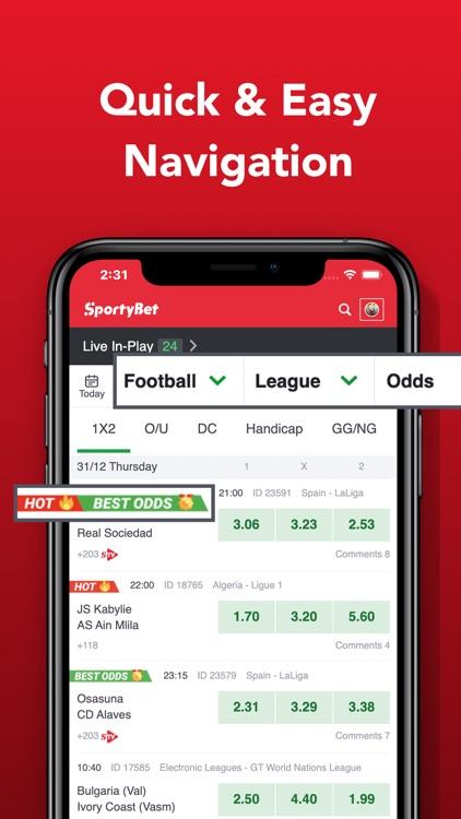 SportyBet - Sports Betting App screenshot-4