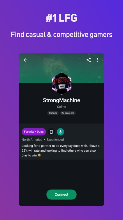 GamerLink - LFG & Voice Chat screenshot-4