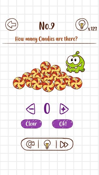 Om Nom Quiz screenshot 2
