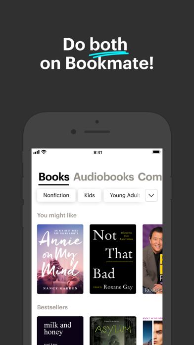 Bookmate. Listen & read books Screenshot
