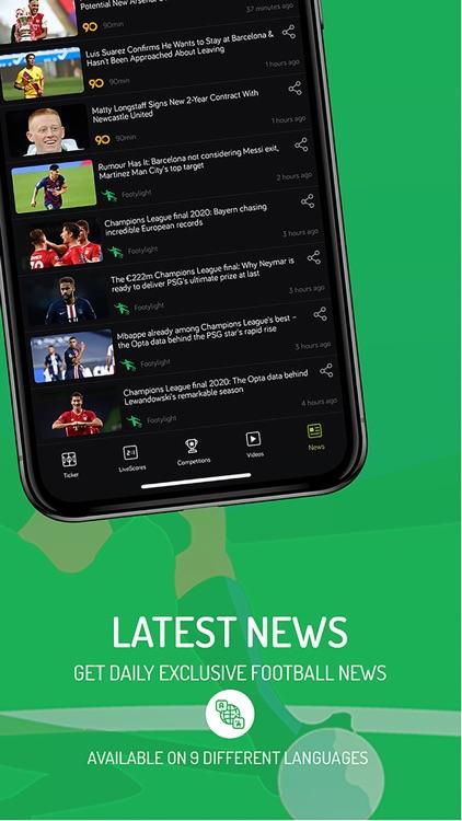 Footylight- Soccer Highlights screenshot-5