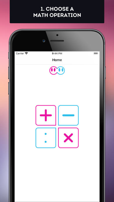 MathWith2Dots Screenshot