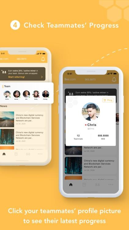 Bee Network:Phone-based Asset screenshot-4