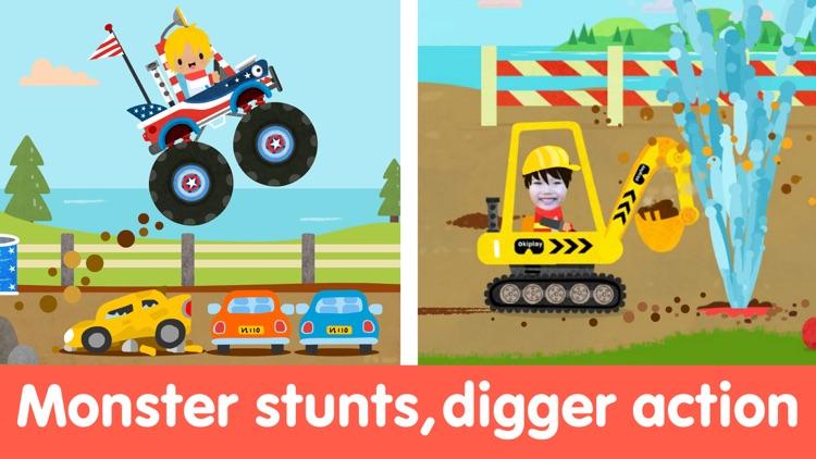 Toddler Car Puzzle Game & Race screenshot-5