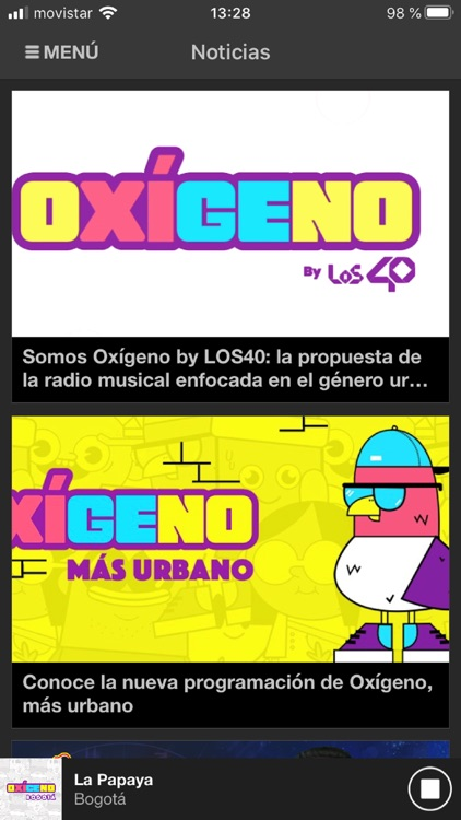 Oxígeno FM Radio screenshot-3